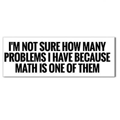 I Got Problems And Math Is One Funny Skate Phone Punk Work Hard Hat Helmet Funny