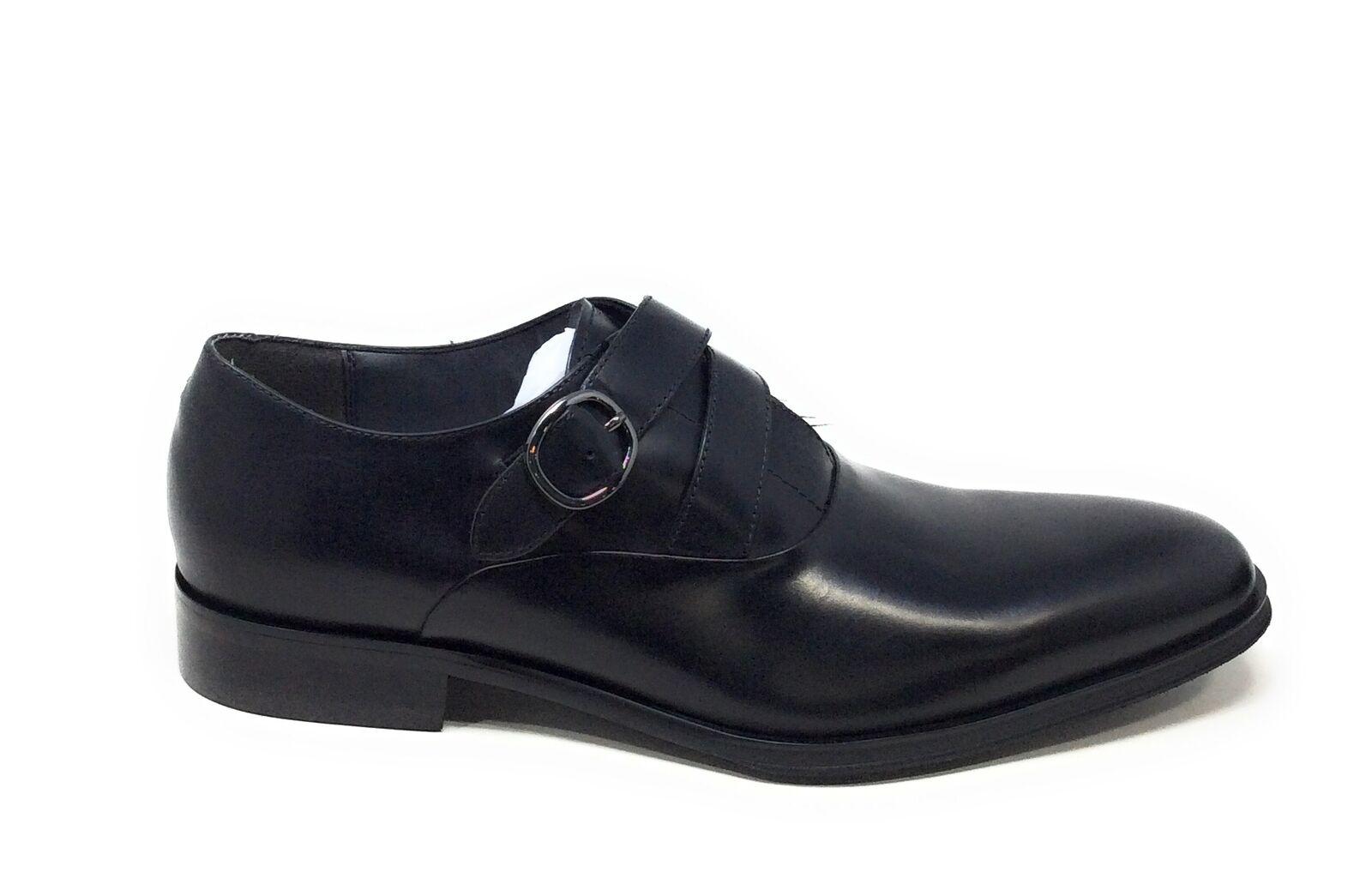 Aldo Herren Yohanane Oxford Kleid Schuhe Mönch Riemen Schwarz Leder Größe 8 M US