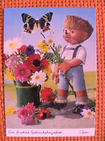 Postkarte AK Mecki Nr. 408 * Ein frohes Geburtstagsfest  *