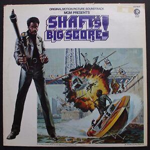 Gordon Parks Mgm Ost Blaxploitation Lp 1972 Shaft S Big Score Ebay