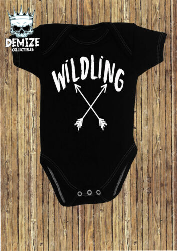 Game of Thrones Baby Grow Body Suit Vest GIFT Wildling