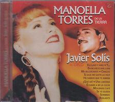 CD - Manoella Torres De a Tierra & Javier Solis Al Cielo NEW FAST SHIPPING !