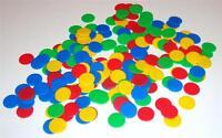 200 Four Colors Round 1 Counters Math Homeschool Teacher Manipulatives
