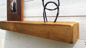 Details Sur Rustique Cheminee Etagere Bois En Pin Massif Beam 4 X4 Windowsill Manteau Cheminee Afficher Le Titre D Origine
