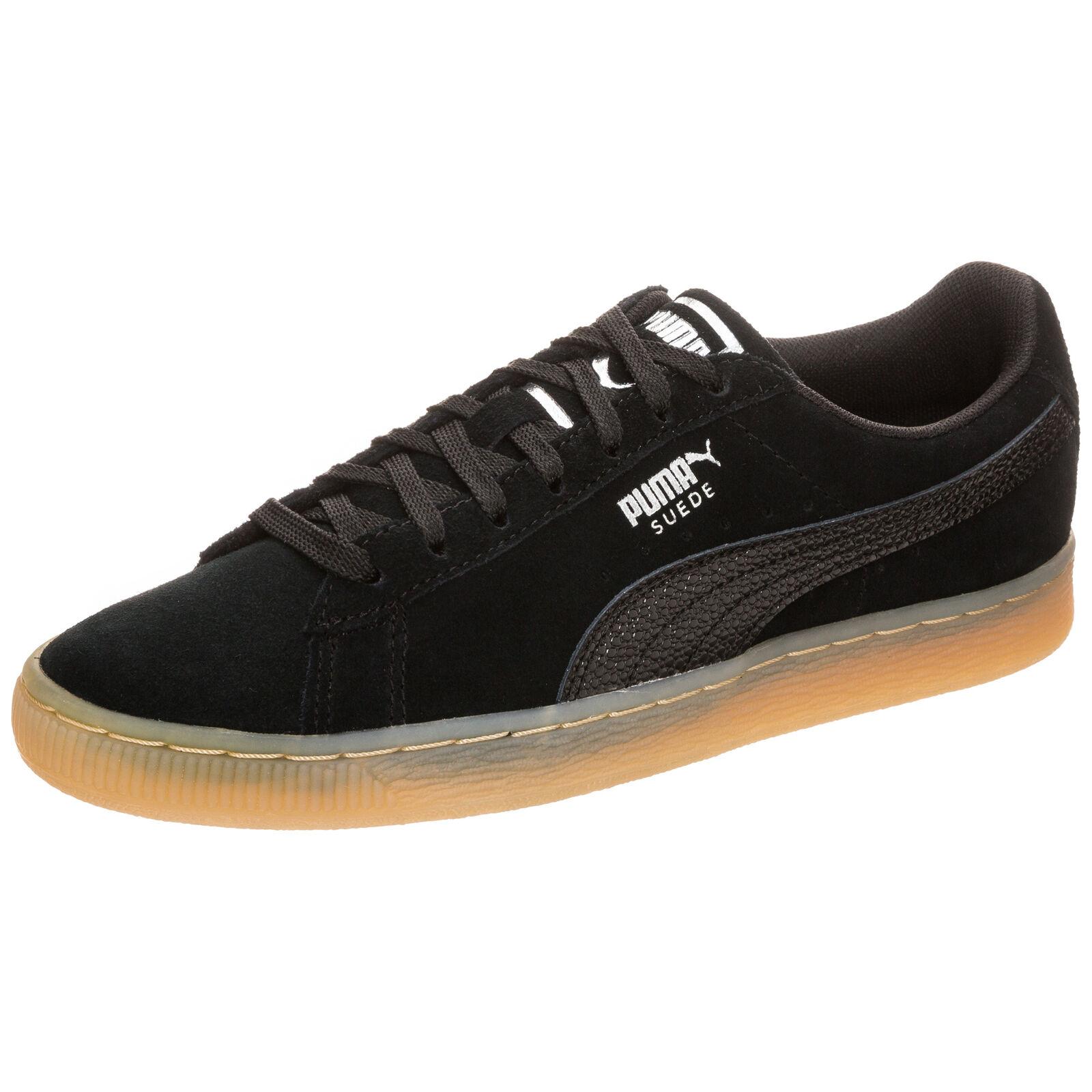 Puma Classic Suede Classic Puma Bubble Sneaker Damen Schwarz NEU dd1cb2