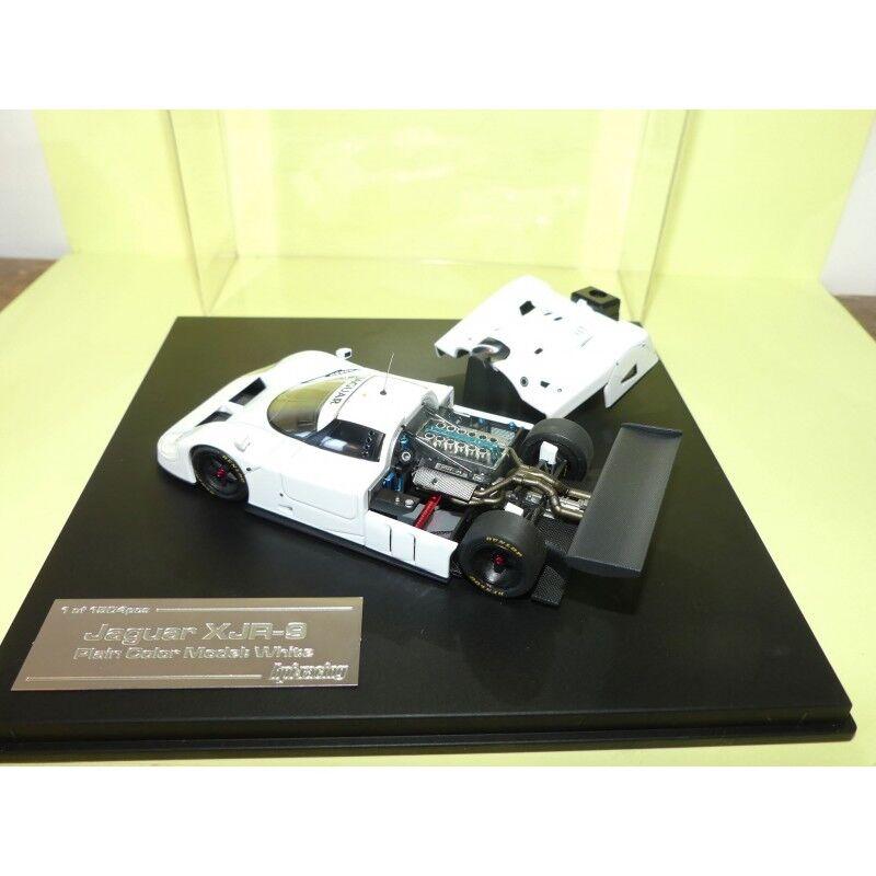 JAGUAR XJR-9 Plain Coloree bianca HPI-Racing 1 43