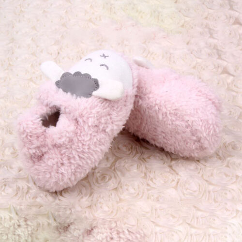 Baby Krabbelschuhe Fleece Stiefeletten Winterschuhe Weich Hausschuhe Puschen DE