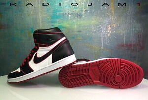 Nike-Air-Jordan-1-Retro-High-OG-Bloodline-Black-Gym-Red-Size-11-5-NEW-w-receipt