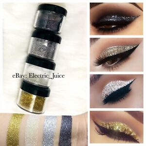 4 Pieces S He Sparkle And Shine Loose Glitters Eyes Lips Face Nails