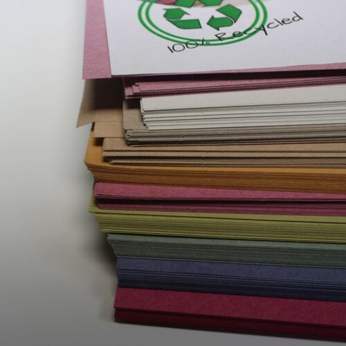 Recycled A3 Ten Pastel Colour Sugar Paper 100gsm pastel Colour Craft Paper Stock