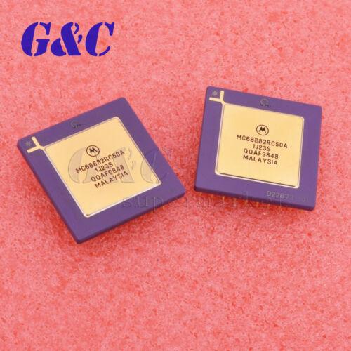 1PCS//2PCS MC68882RC50A Package:PGA MC680X0 FPU COPROCESSOR MOTOROLA IC