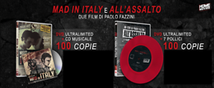 Mad-In-Italy-All-039-Assalto-Limited-Paolo-Fazzini-2-DVD-CD-Vinile