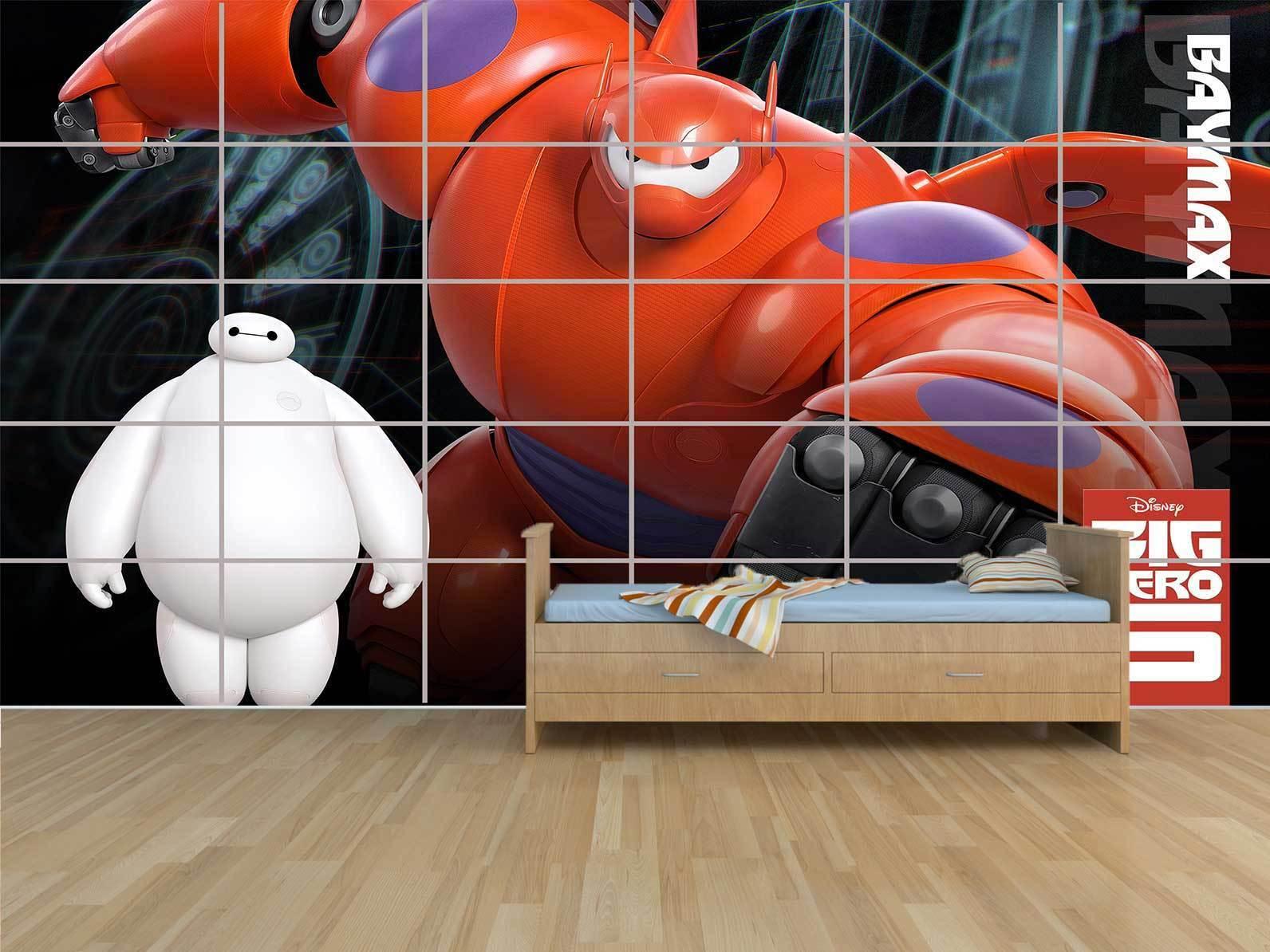 New Big Hero  Movie - Baymax - KIDS - Wall Poster  ROOM KIDS