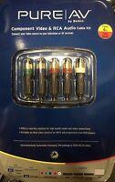 Belkin - Av2211-06 - Pure Av Component Video And Audio Cable Kit 6 Ft.