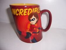Disney Pixar Mrs Incredible Stretched To My Limits Coffee Mug Cup Disney Store