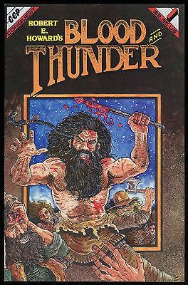 Conquest Howard Robert E Rick McCollum art  RARE !! Blood and Thunder