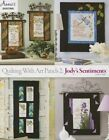 Quilting with Art Panels 2: Jody's Sentiments by Carolyn Vagts (Paperback / softback, 2015)