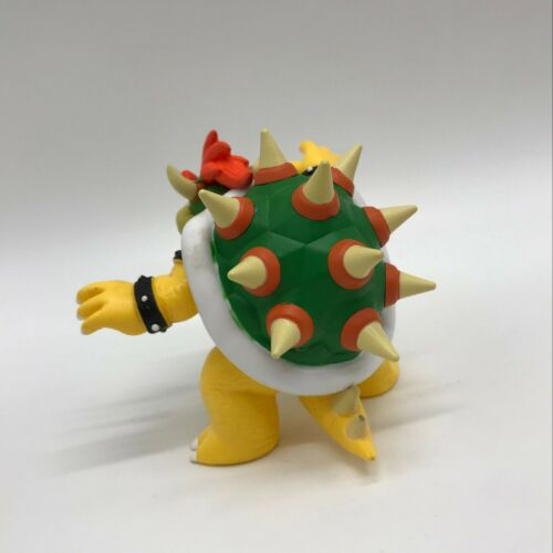 """New Super Mario Bros Collectible Bowser Koopa Doll PVC Plastic Figure Toy 4/"""""""