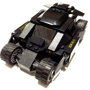 lego custom dc batman dark knight tumbler batmobile matches set 76001 bin ebay. Black Bedroom Furniture Sets. Home Design Ideas