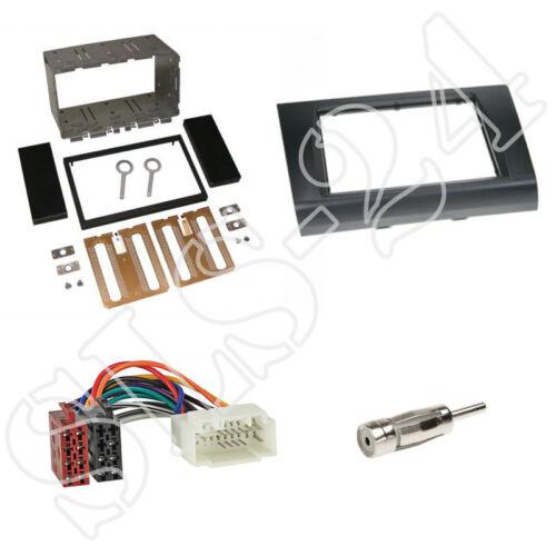 Suzuki Swift Sport ez MZ doble 2-din diafragma radio diafragma ISO KFZ cable del adaptador