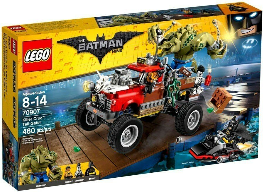70907 LEGO DC The Batman Movie - Killer Croc Tail-Gator
