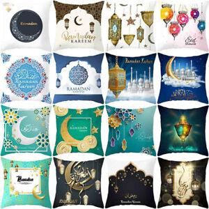 Muslim-Ramadan-Pattern-Polyester-Cushion-Cover-Pillow-Case-Home-Decor-F