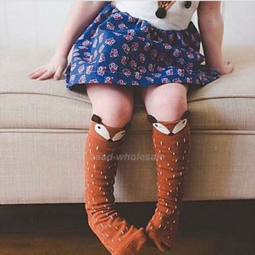 Cute Kids Toddlers Girls Knee High Socks Tights Leg Warmer Stockings For Age 0-6