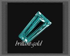 wunderschöner zart blauer Diamant im Baguette-Schliff, VS-Si, ca 2,5x1,5x1mm