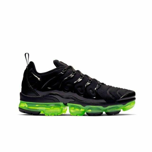 Nike Air Vapormax Plus BlackVoltSilver Shoes 924453 015 Vapor Max Mens Sizes