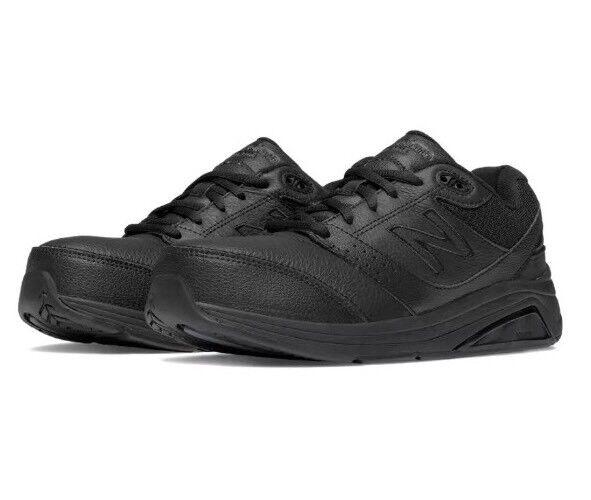 New Balance Black Leather 928v2 Woman's Walking shoes 1404 Size 7 B