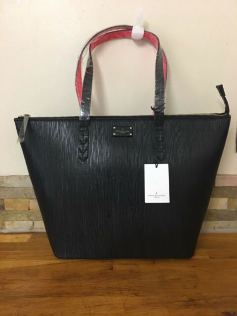 Pauls Boutique Conner Classic Oversized Black Tote Bag for sale ... 3875fa6ad013d