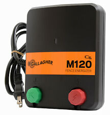 Electric Fence Charger M120 12 Stored Joules 110 Volt
