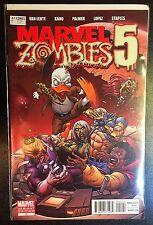 Marvel Zombies 5 #2 Variant Comic Marvel 2010 2B Salvador Epsin Howard The Duck