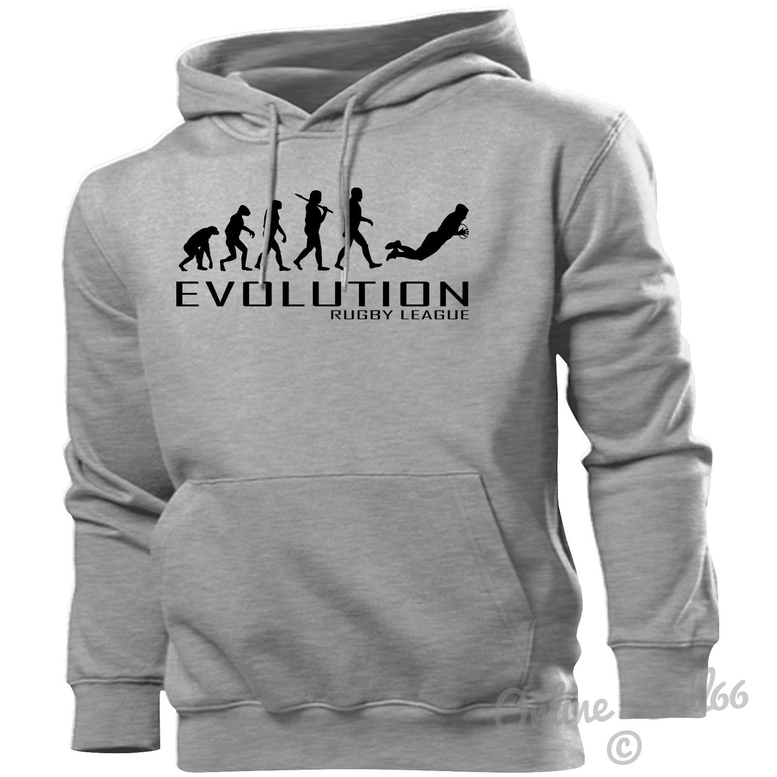 Rugby League Evolution Hoodie Mens Womens Kids Hoody Kit Ball Boots Studs Boys