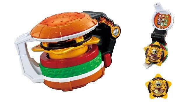 NEW BANDAI Shuriken Sentai Ninninger Transformation device Ninja Star Burger F/S