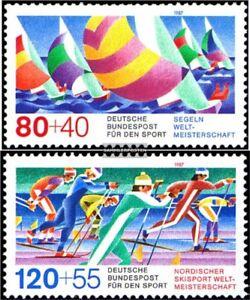 BRD-BR-Deutschland-1310-1311-kompl-Ausgabe-gestempelt-1987-Sporthilfe