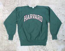 Vintage 90s Champion Reverse Weave Harvard Ivy League Crewneck Sweatshirt Large