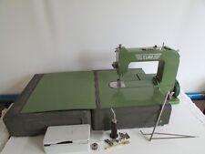 Vintage Swiss Elna Grasshopper #1 Sewing Machine Type 500970 w/ Case Extras Nice