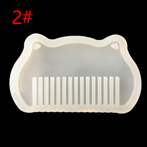 Transparent Silicone Comb Mold Resin Molds For DIY Jewelry Making Tools Mould