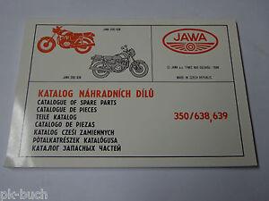Catalogo-de-Piezas-Piezas-Repuesto-Jawa-350-Tipo-638-639-Stand-1994