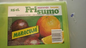 OLD-PORTUGAL-SOFT-DRINK-CORDIAL-LABEL-UNICER-UNIAO-FRI-SUMO-MARACUJA
