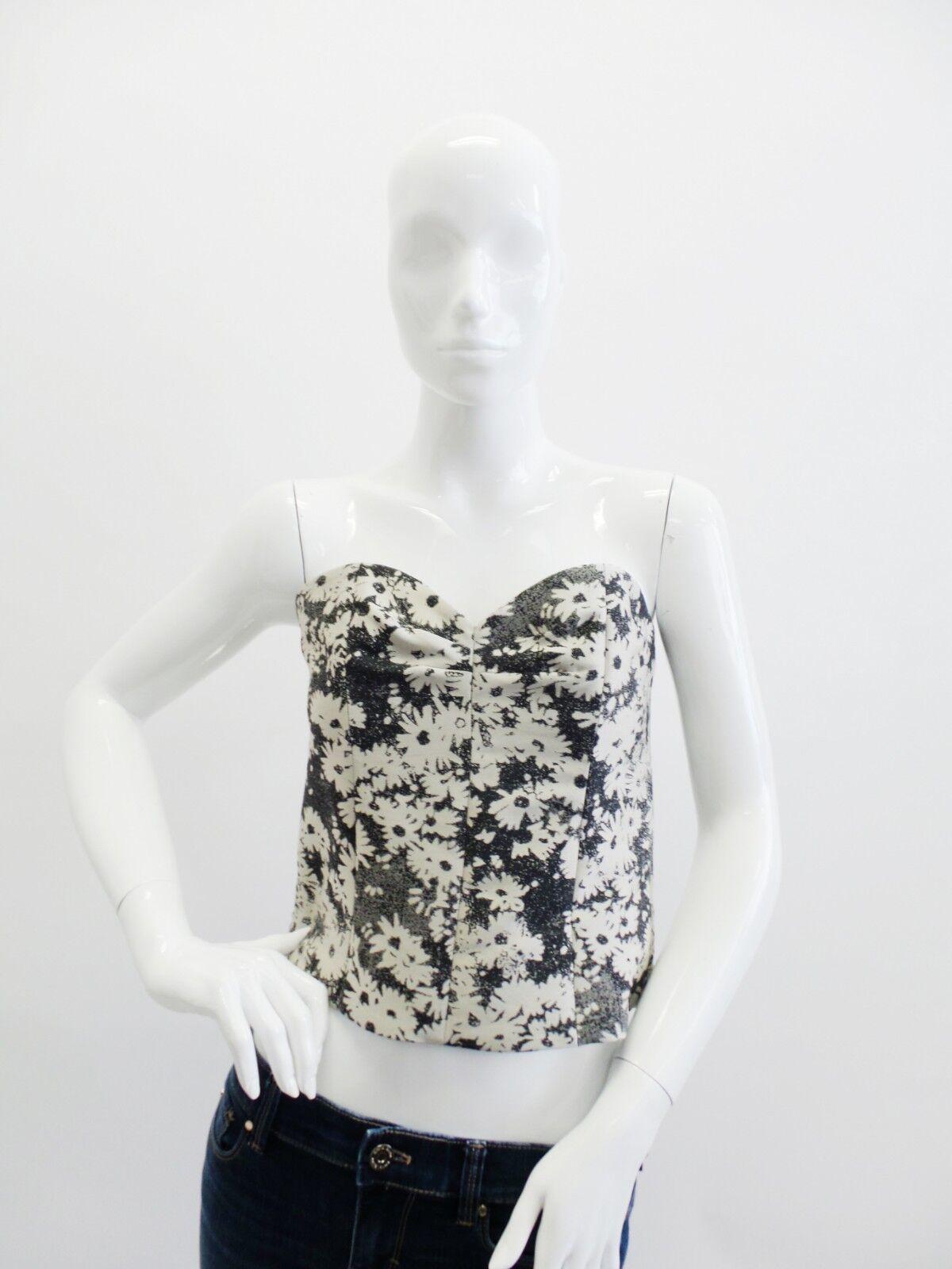 Stella McCartney   Strapless Floral Print Corset Größe 6