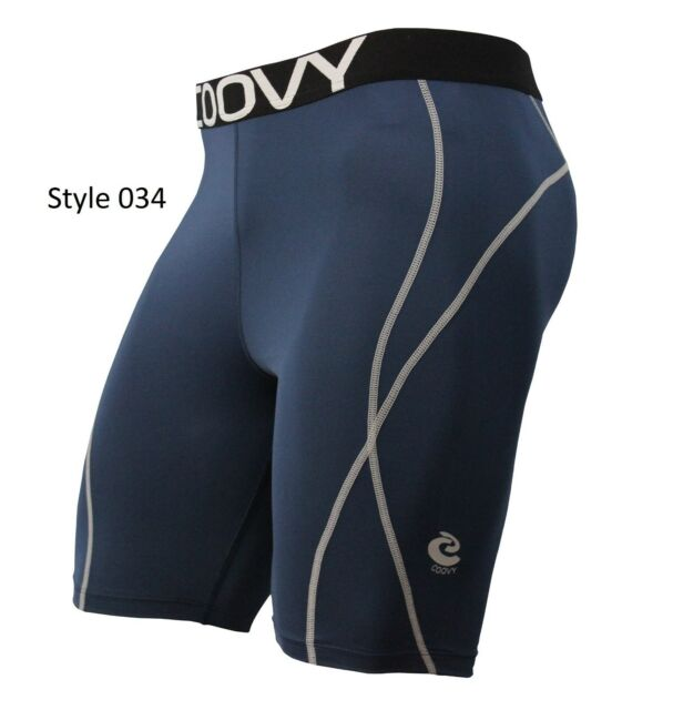 Men's COOVY Sports Compression Wear Under Baselayer Athletic Top, Tights, Short