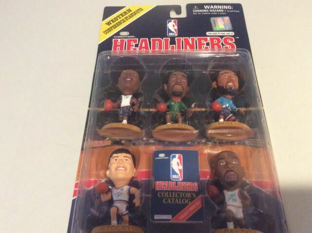 Headliners NBA 1997 Western Conference Standouts.
