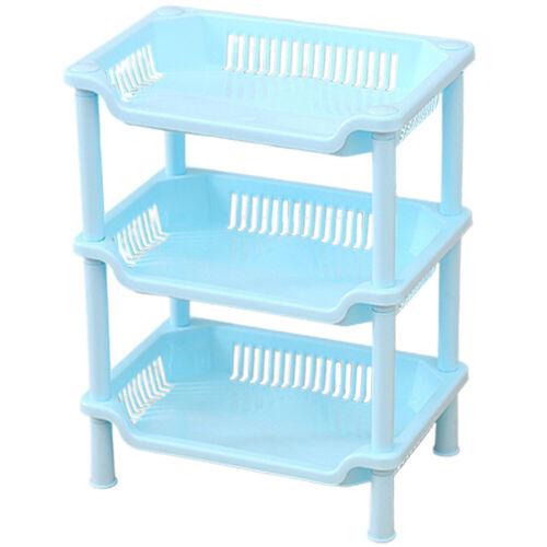 3Tier Plastic Shower Corner Caddy Shelf Rack Bathroom Bath Storage Organizer HN