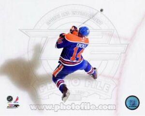 "Jordan Eberle Edmonton Oilers NHL Action Overhead Photo (8"" x 10"")"