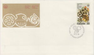 CANADA-684-20-OLYMPIC-ARTS-AND-CULTURE-FIRST-DAY-COVER