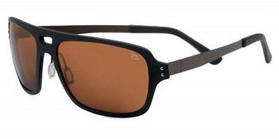 Drivers 7894 SERENGETI Polarized Photochromic FERRARA Sunglasses Satin Black