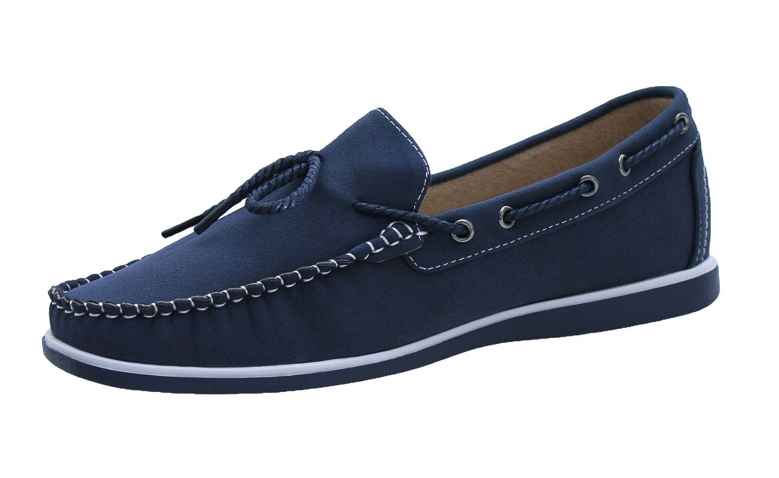 LOAFERS MEN SNEAKERS SPRING blueE CASUAL SHOES LOW ESPADRILLES da 40 a 45