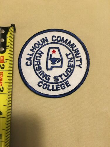 Calhoun Community College Nursing School Patch